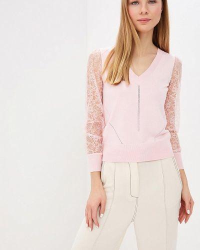 Пуловер розовый Love Republic