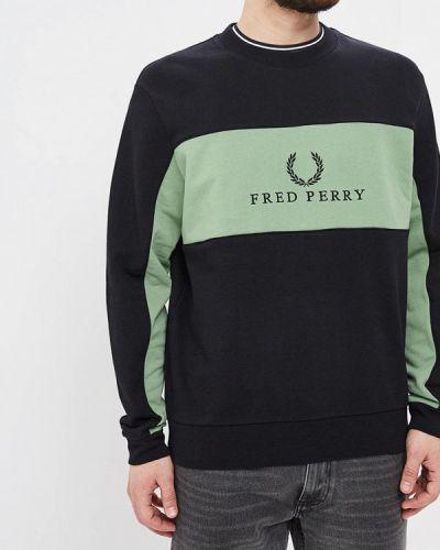 Свитшот черный Fred Perry