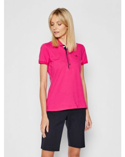Różowa koszulka Lauren Ralph Lauren