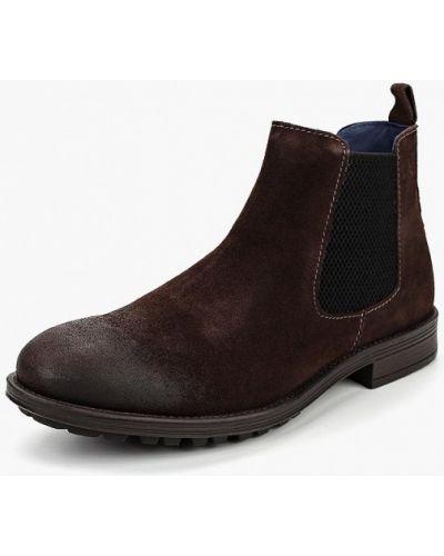 Ботинки челси осенние замшевые S.oliver