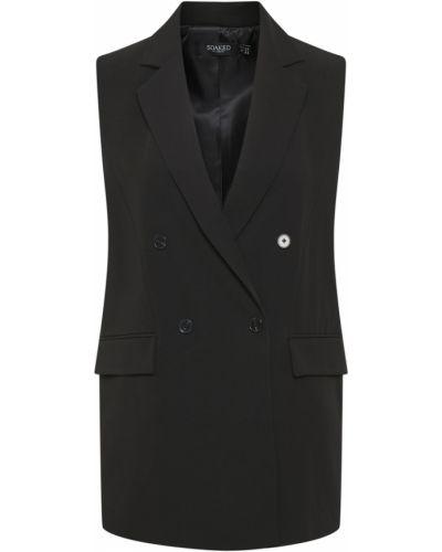Czarna kamizelka bez rękawów Soaked In Luxury
