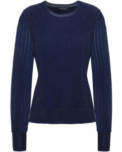 Prążkowany sweter wełniany Rag & Bone