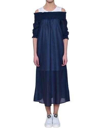 Синее платье Twin-set