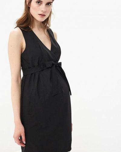 Платье - черное 9месяцев 9дней