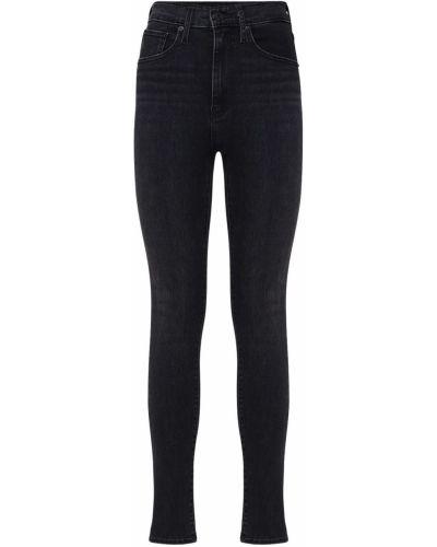 Джинсовые зауженные джинсы - черные Levi's Red Tab