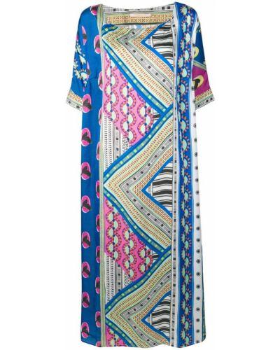 Платье мини с поясом Ermanno Gallamini