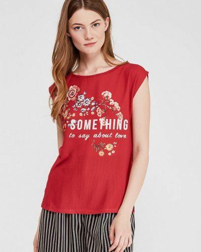 Красная футболка Springfield
