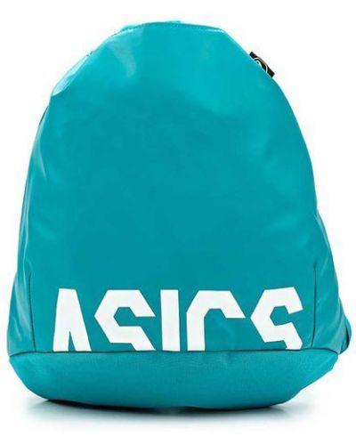 Рюкзак спортивный кожаный с принтом Asics