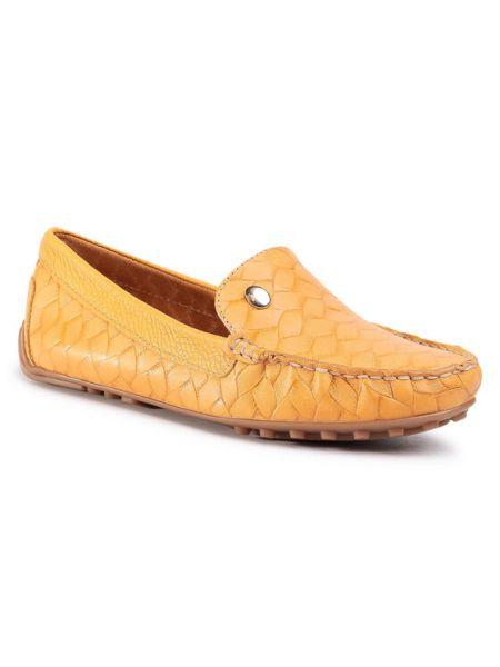 Mokasyny - żółte Quazi