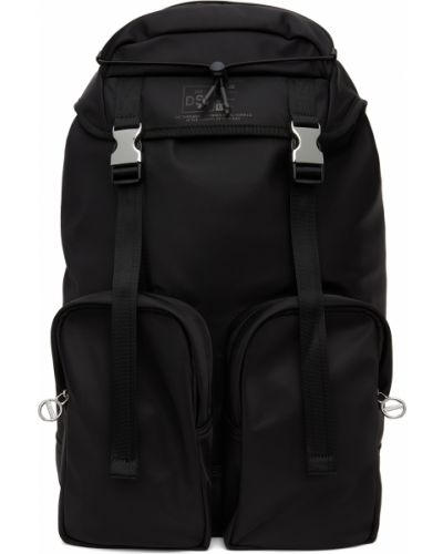 Plecak skórzany - czarny Diesel