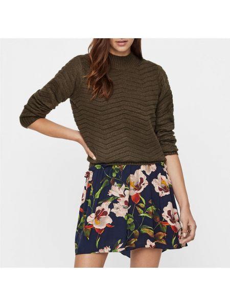 Пуловер с воротником-стойкой шерстяной Y.a.s.