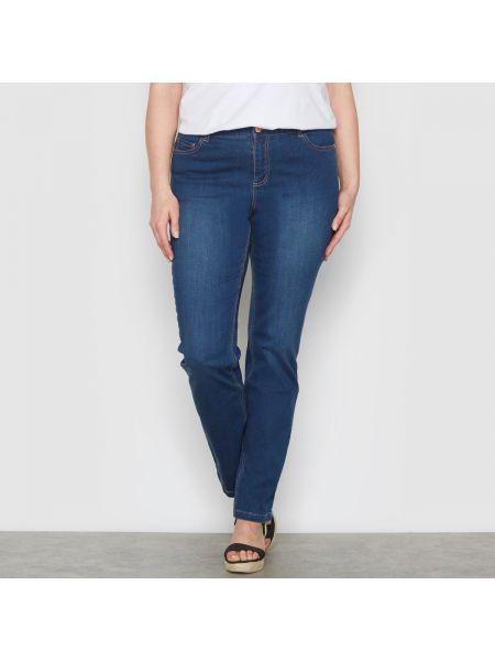 Прямые джинсы с поясом потертые Castaluna