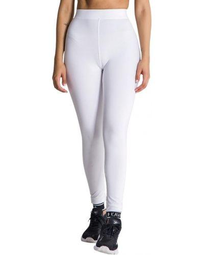 Białe legginsy Gianni Kavanagh