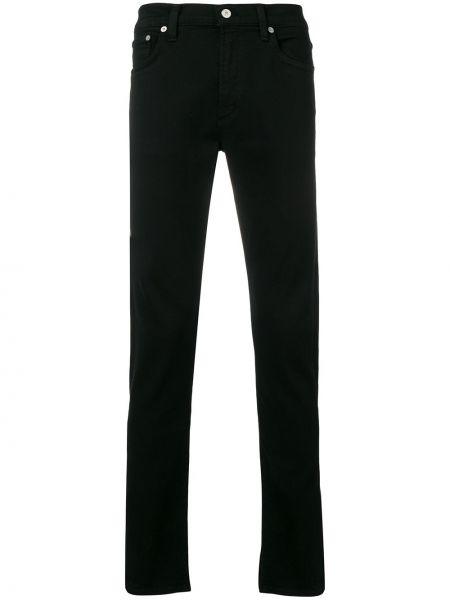 Czarne jeansy bawełniane z paskiem Citizens Of Humanity