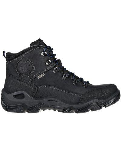 Кожаные кроссовки - черные Imac