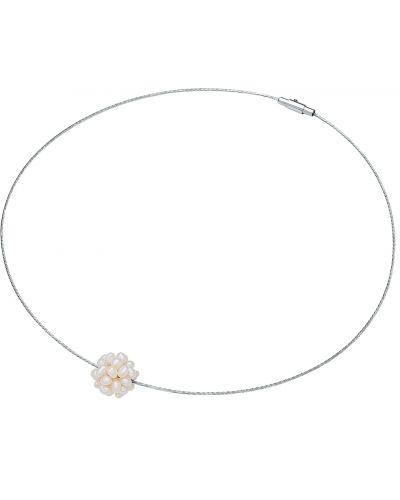 Biały naszyjnik z pereł Valero Pearls