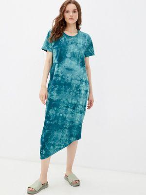 Зеленое весеннее платье D.s