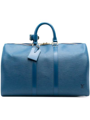 Torba podróżna, niebieski Louis Vuitton