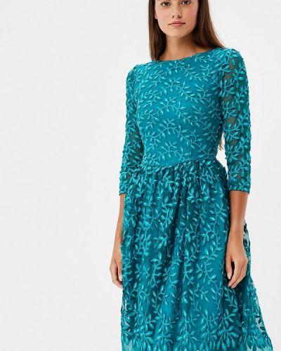 Коктейльное платье бирюзовый Po Pogode