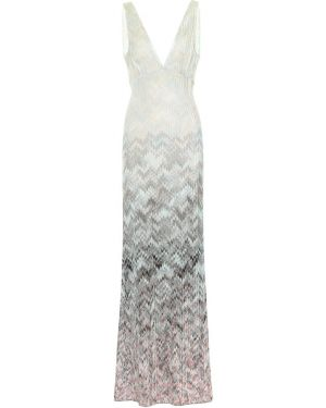 Вязаное платье макси Missoni