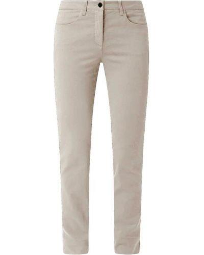 Beżowe spodnie Luisa Cerano