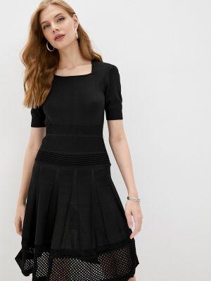 Черное платье осеннее Pinko