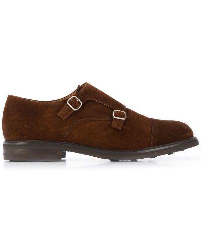 Туфли коричневый серебристые Berwick Shoes