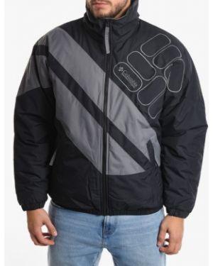 Нейлоновая черная куртка Columbia