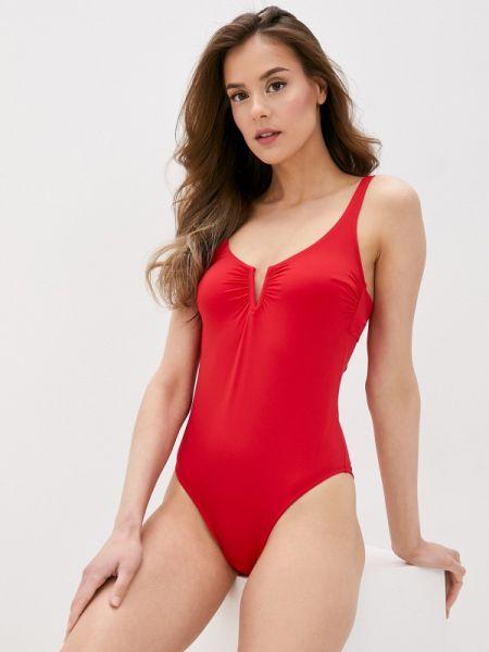 Слитный купальник красный United Colors Of Benetton