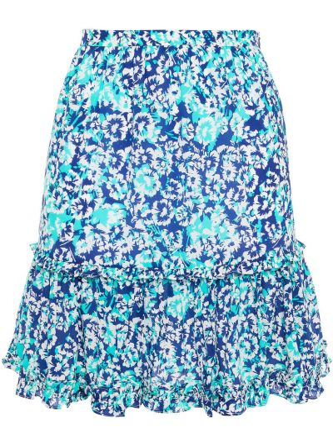 Spódniczka mini - niebieska Paloma Blue