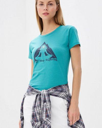 Бирюзовая футболка The North Face