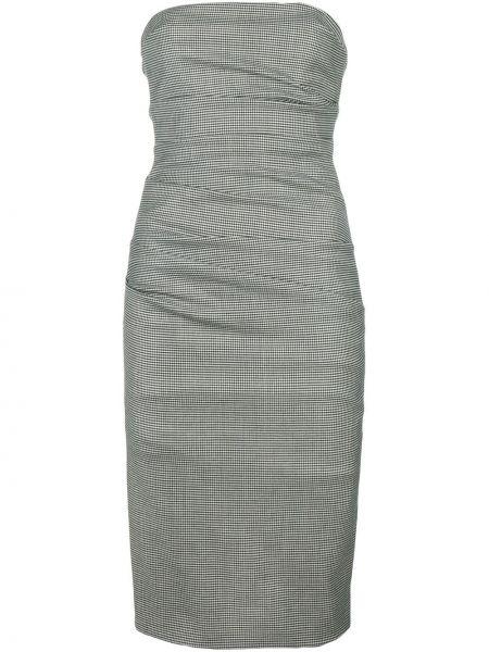 Облегающее платье винтажная шерстяное Moschino Pre-owned
