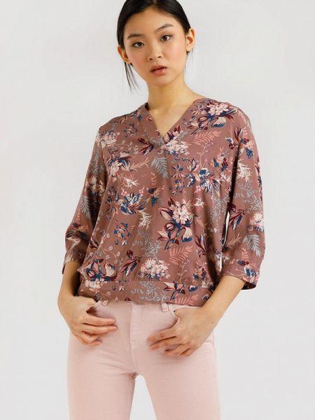 Блузка с длинным рукавом с расклешенными рукавами весенний Finn Flare