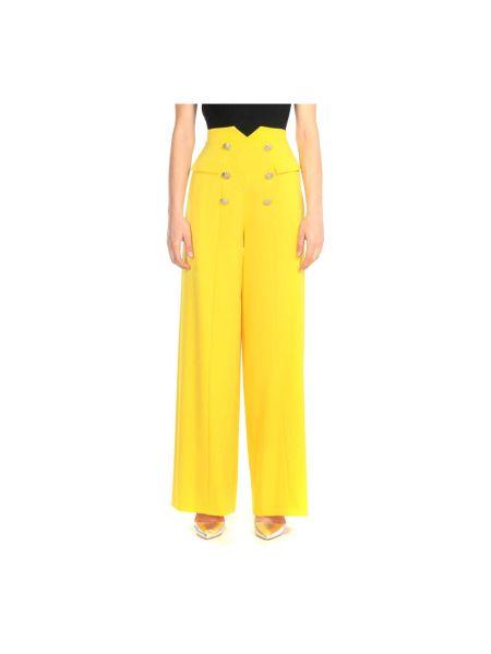 Żółte spodnie Alessia Santi