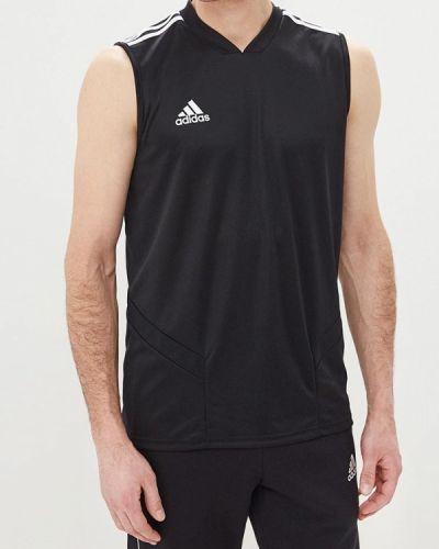 Черная спортивная майка Adidas