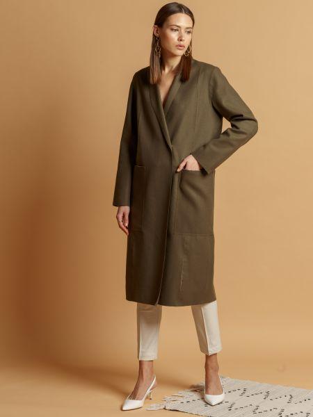Брендовое пальто классическое Insideu