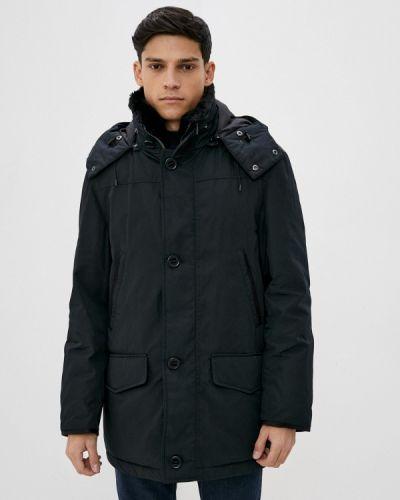 Утепленная синяя короткая куртка Marks & Spencer