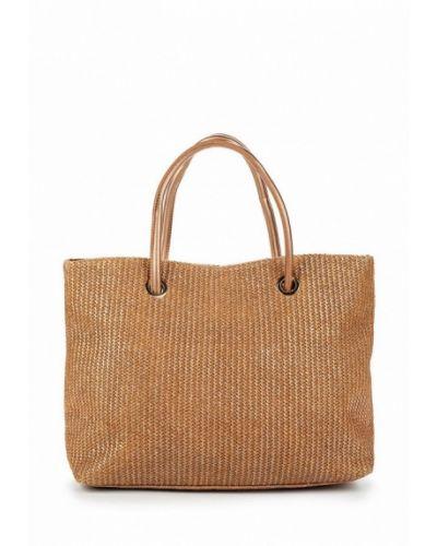 Бежевая пляжная сумка Women'secret