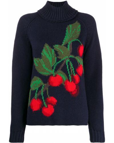 Кашемировый свитер - синий Pringle Of Scotland