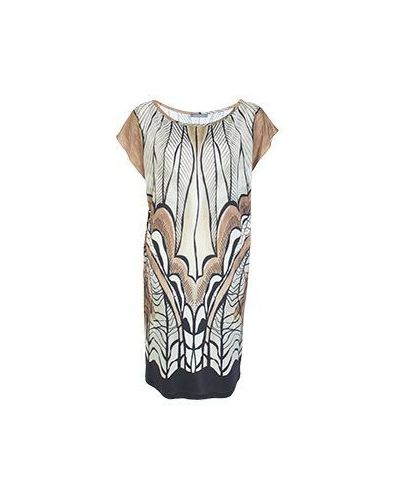 Летнее платье миди в стиле бохо Alberta Ferretti