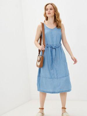 Джинсовое синее платье Helmidge