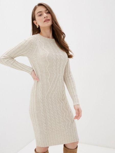 Платье - бежевое Happychoice