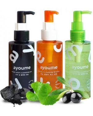 Гидрофильное масло очищающее увлажняющий Ayoume