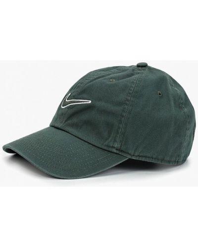 Бейсболка зеленый Nike