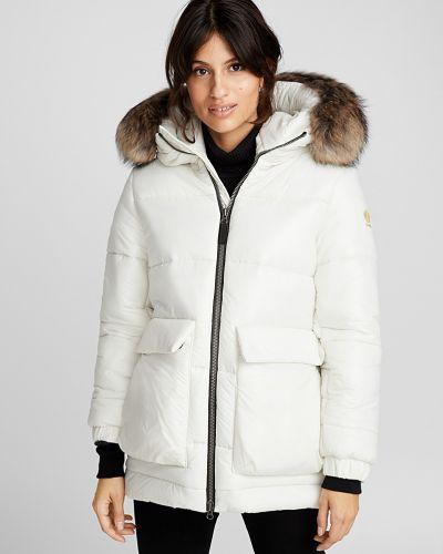 Куртка с капюшоном утепленная свободная Kanuk