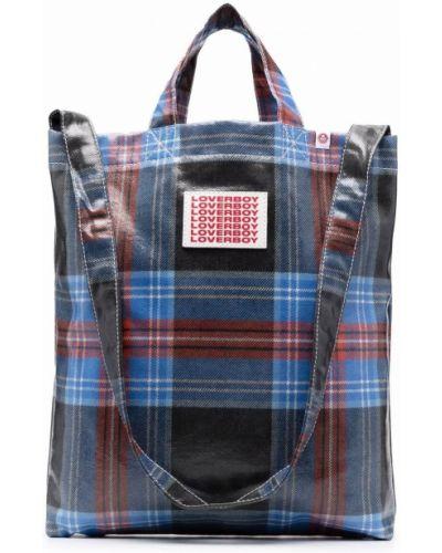 Niebieska torba na ramię Charles Jeffrey Loverboy