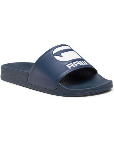 Sandały casual granatowe G-star Raw