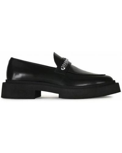 Loafers - czarne Giuseppe Zanotti