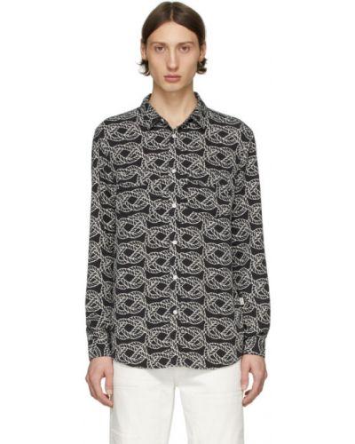 Koszula z długim rękawem dżinsowa szwedzki Tiger Of Sweden Jeans