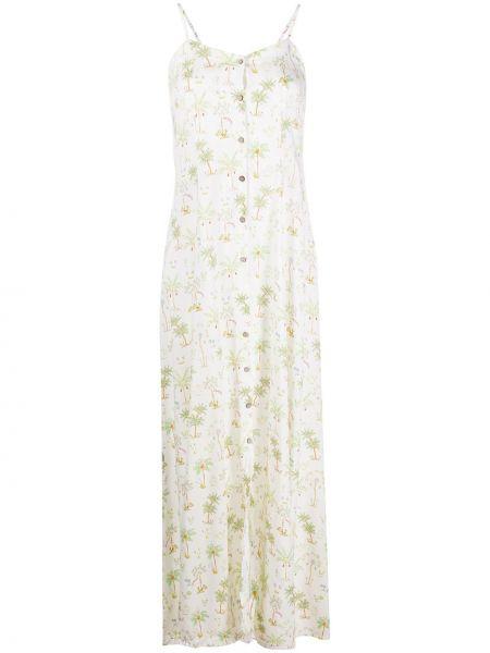 Sukienka zielona w kwiaty C'est La V.it